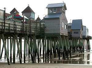 Old Orchard Beach, Maine - Pier at Old Orchard Beach