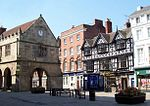 Old Shrewsbruy Market Hall -England