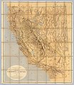 Old map of California an Nevada - Circa 1874 - 001.jpg