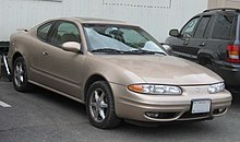 An Oldsmobile Alero Coupe In 2007