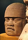 Olmec head from San Lorenzo, Veracruz2006.jpg