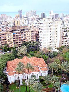 Ras Beirut quarter of Beirut