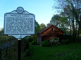 Bunker Hill, West Virginia - Morgan Cabin state park