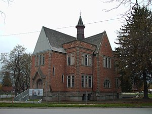 Church Educational System - Oneida Stake Academy, Preston, Idaho