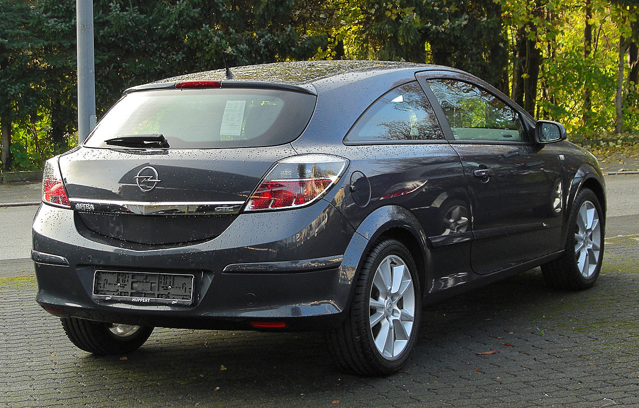 file opel astra h gtc facelift rear wikimedia commons. Black Bedroom Furniture Sets. Home Design Ideas