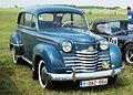 Opel Olympia (ca 1952) at Schaffen-Diest (2014).JPG