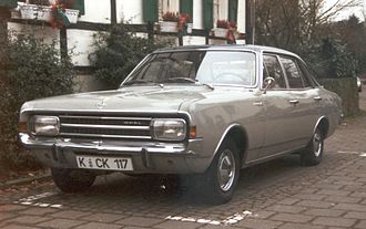 Opel Rekord - Image: Opel Rekord 3