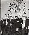 Openingen, tentoonstellingen, auteurs, Fedder, H., Loggem, M.V., Morrien, Adriën, Bestanddeelnr 092-1351.jpg