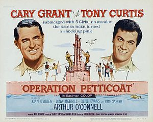 Operation Petticoat - Theatrical release half-sheet display poster