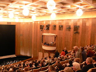 Leipzig Opera - Interior of Leipzig Opera