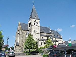 Opglabbeek - Image: Opglabbeek Sint Lambertuskerk