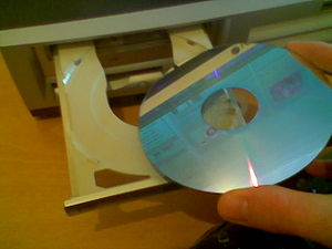 Pic of DVD on way to drive
