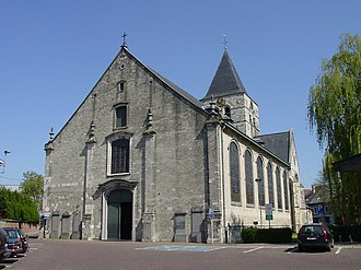 Opwijk - The church of Saint-Paul in the centre of Opwijk