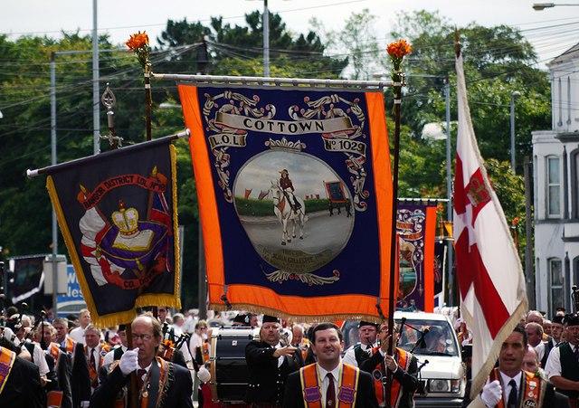 Orangemen parade in Bangor, 12 July 2010 - geograph - 1964645