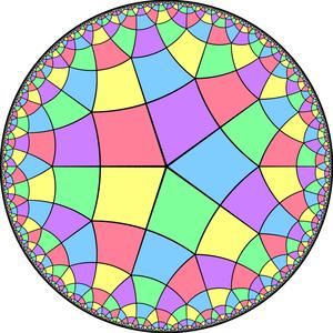 Tetrapentagonal tiling - Image: Order 5 4 quasiregular rhombic tiling