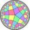 Order-5-4 quasiregular rhombic tiling