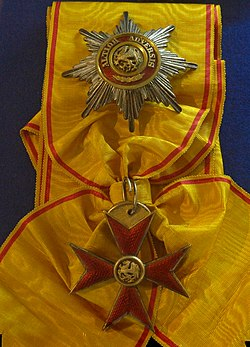 Order of the Griffon grand cross insignias (Mecklenburg-Schwerin 1890-1900) - Tallinn Museum of Orders.jpg