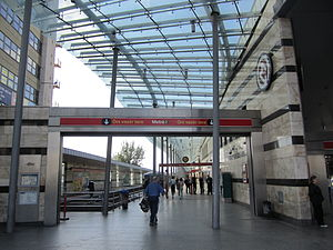 Örs vezér tere (Budapest Metro) - Station interior
