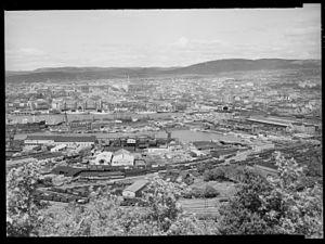 Loenga–Alnabru Line - Loenga in 1952
