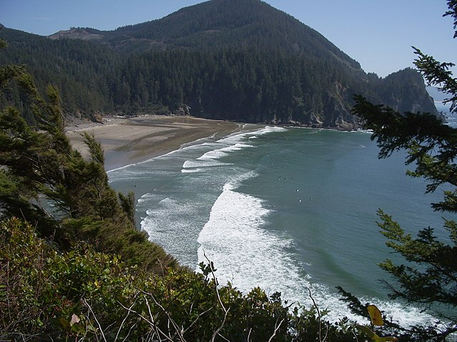 Oswald Beach State Park Oregon