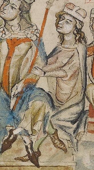 Otto I, Duke of Merania - Otto I of Andechs, Hedwig Codex, 1353