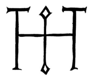 Signum manus - Signum manus of Otto I