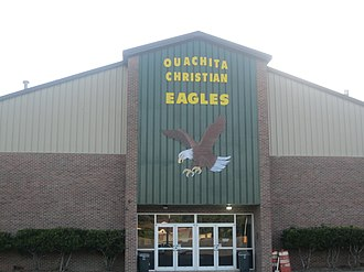 Christian school - The Ouachita Christian School operates on this campus off U.S. Highway 165 in Monroe, Louisiana.