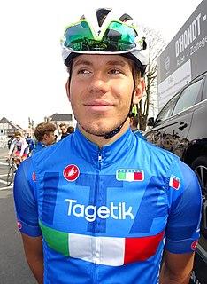 Davide Ballerini Italian bicycle racer