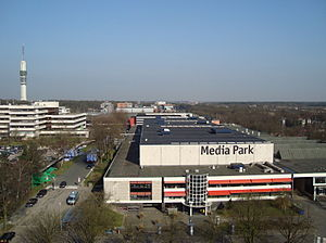 Media Park (Hilversum) - Media Park as viewed from the Netherlands Institute for Sound and Vision