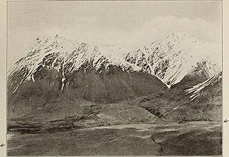 Sarhadd - Oxus Valley near Sarhad, with range towards Great Pamir by Aurel Stein