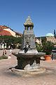 Pécs - Zsolnay Fountain 01.jpg