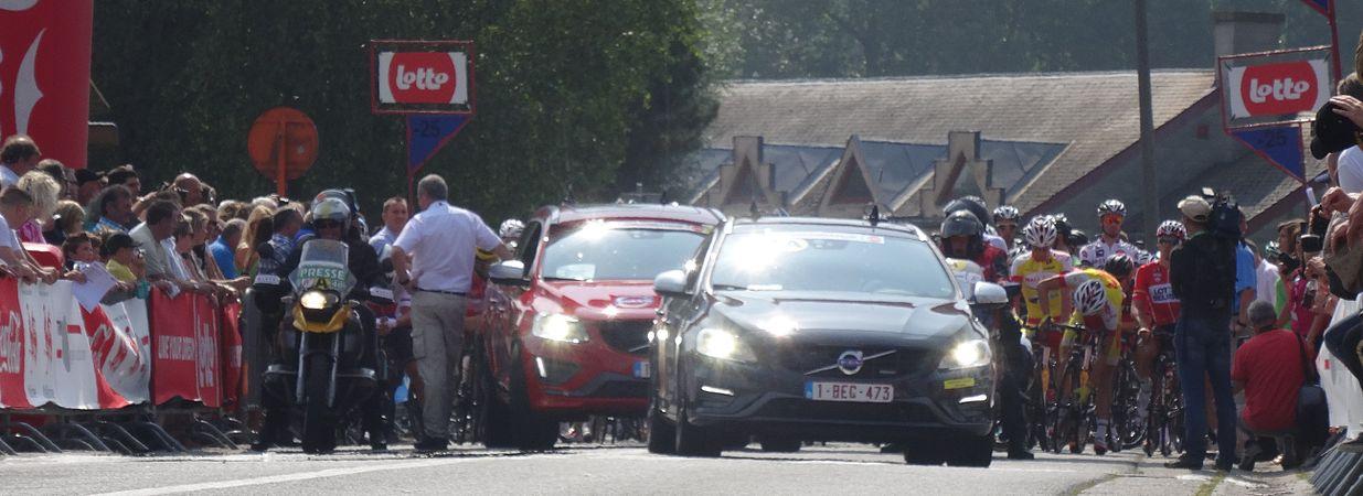 Péronnes-lez-Antoing (Antoing) - Tour de Wallonie, étape 2, 27 juillet 2014, départ (D18).JPG