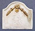 Pörtschach Hauptstraße 203 Reliefstein mit Inschrift F. W 1835 07042019 6375.jpg