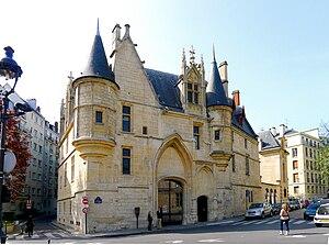Hôtel de Sens - Front