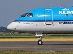 PH-EZH Embraer ERJ-190STD KLM cittyhopper taxiing, 25august2013 pic-3.JPG