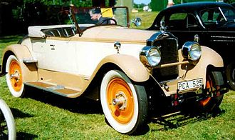 Packard Fourth Series Six Model 426 Runabout (Roadster), 1927 Packard 426 Roadster 1927.jpg