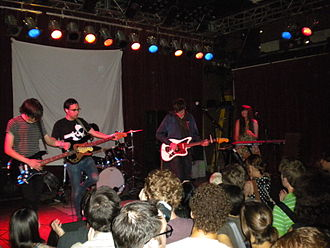 The Pains of Being Pure at Heart - The Pains of Being Pure at Heart performing in Seattle in 2009