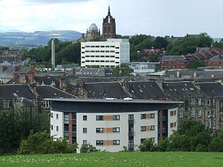 Paisley, Renfrewshire town in the historic county of Renfrewshire in Scotland
