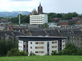 Paisley, Renfrewshire - Image: Paisley overview