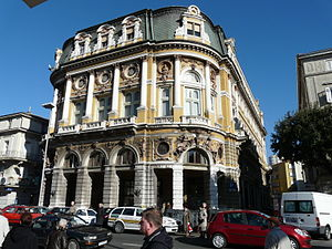 Palace Modello in Rijeka (City Library) Croatia