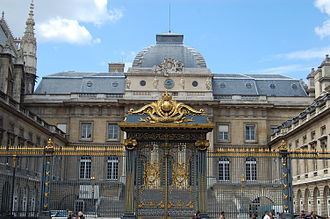 Palais de Justice, Paris - Image: Palais de Justice (Paris) June 2010