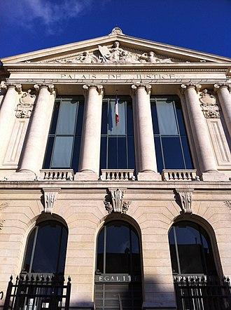 Nice - The Palais de Justice