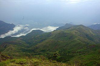 Palani Hills - A scenic view of palani hills