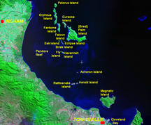 Great Palm Island-Geography-Palm Islands context map en