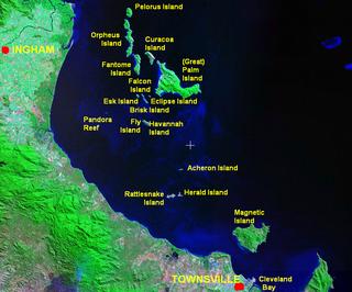 Fantome Island island in Australia