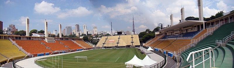 Resultado de imagem para estádio do pacaembu