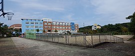 Panoramic photography of Gyeryong High School.jpg