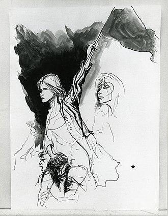 Renato Guttuso - Image: Paolo Monti Servizio fotografico (Roma, 1969) BEIC 6363483