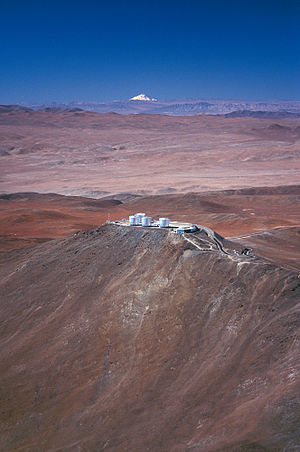 Llullaillaco - Llullaillaco seen from Paranal.