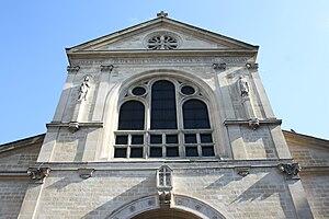 Notre-Dame de Clignancourt - Facade of Notre-Dame de Clignancourt